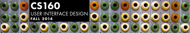 CS160: User Interface Design